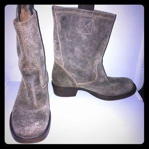 Steve Madden Houstonn Boots- Brown